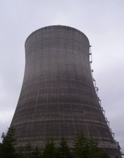 View of the Cooling Tower, Satsop