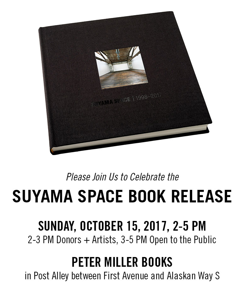 Suyama Space Book Release Invite October 15 see suyamaspace.org for details