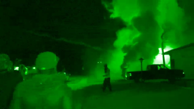 gassing civilians in Ferguson