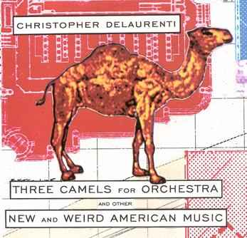 cover to Three Camels for Orchestra by Ian Vollmer